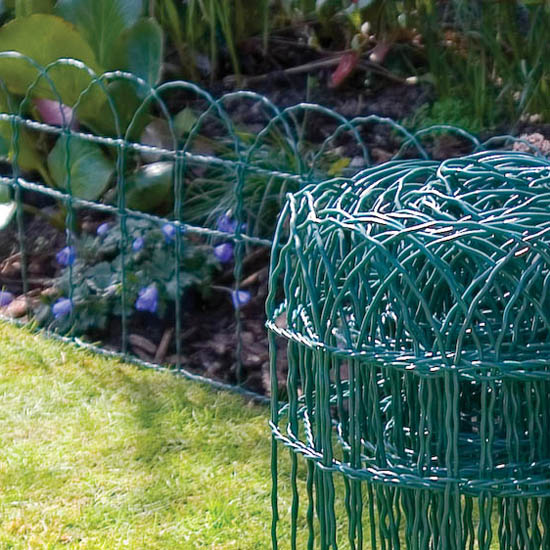 Decorative wire fencing decorative wire fence suppliers for Gardeners supply company catalog