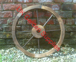 60cm Decorative Garden Wheel