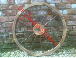 80cm Decorative Garden Wheel