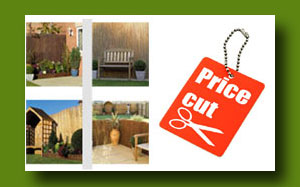 Price Cut on all Garden Screening and Fences